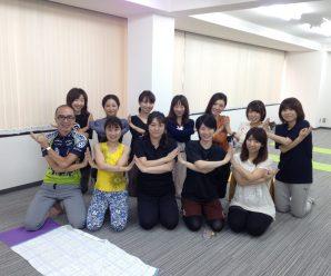 第5回Yoga倶楽部です。