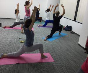 第6回目Yoga倶楽部!
